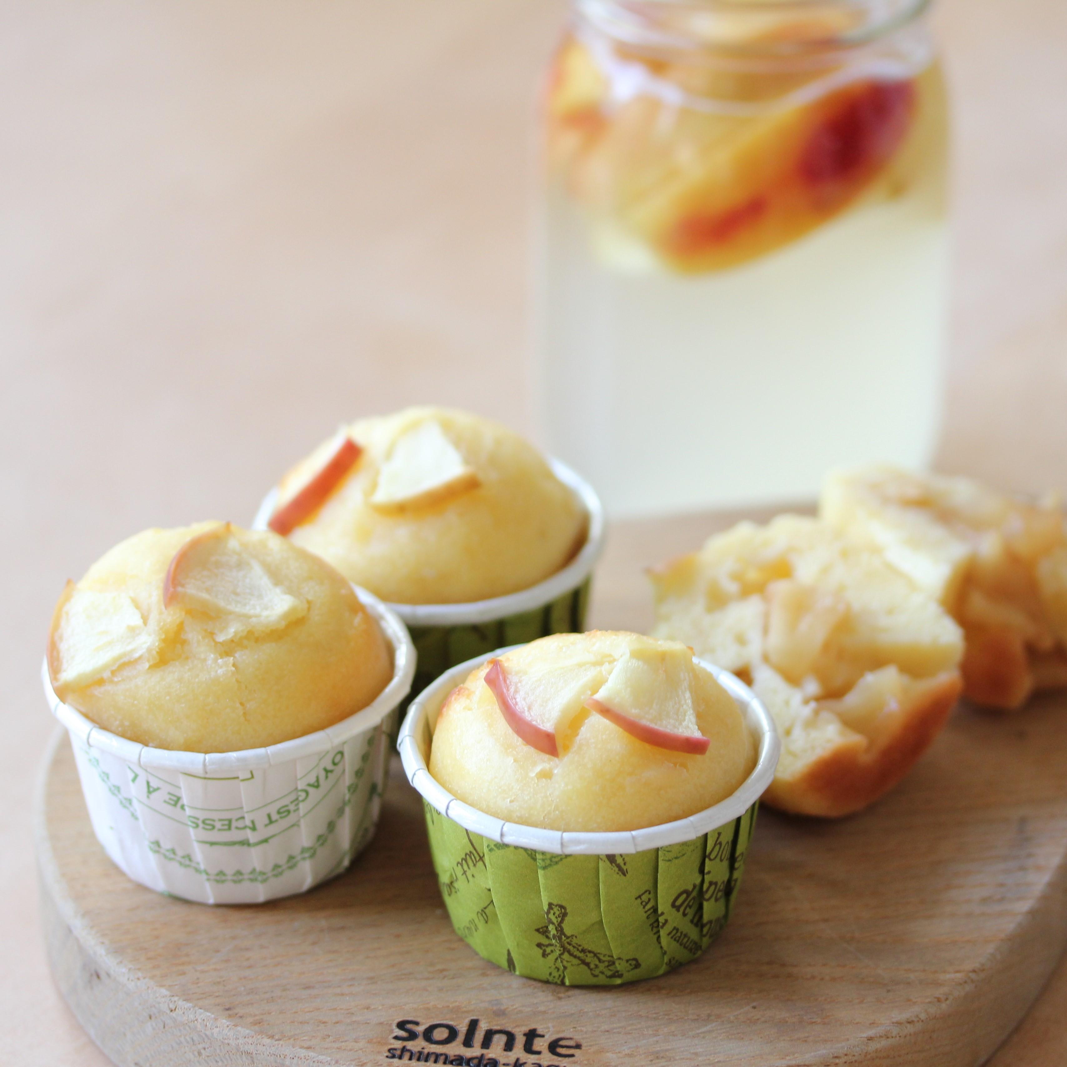 【ワークショップ】 自家製酵母を楽しもう りんご酵母で簡単マフィン作り <東京:麻布十番会場> ※申し込み期限 10月30日 23:59まで